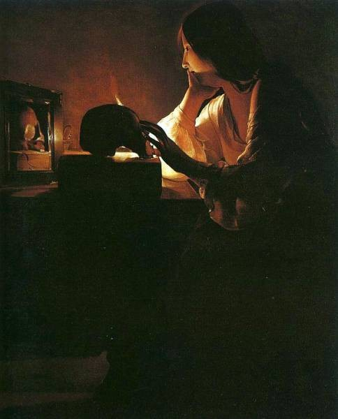The Repentant Magdalen CGF